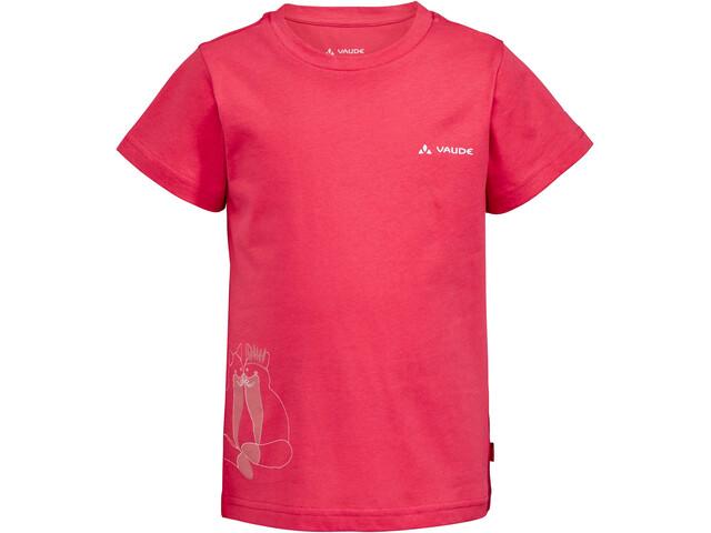 VAUDE Lezza T-shirt Børn, bright pink